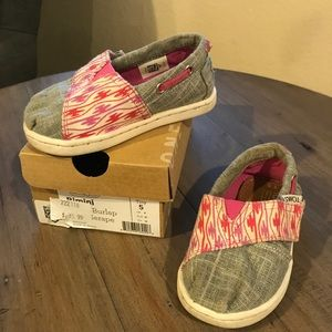 Baby toms. Size 5c.
